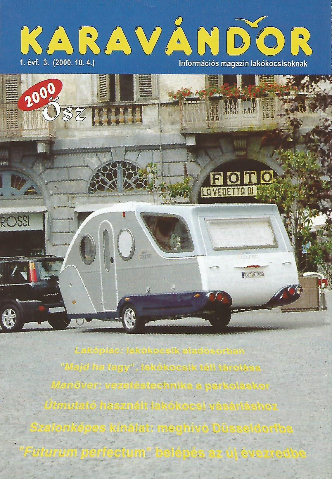 Karavándor Magazin 2000 Ősz