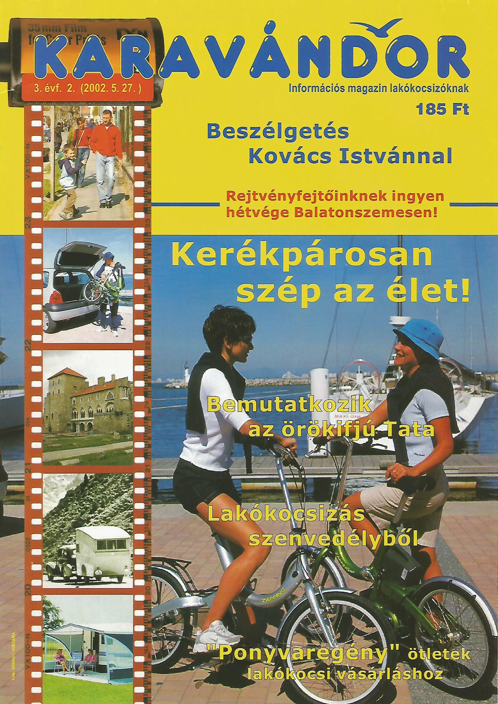 Karavándor Magazin 2002 Nyár