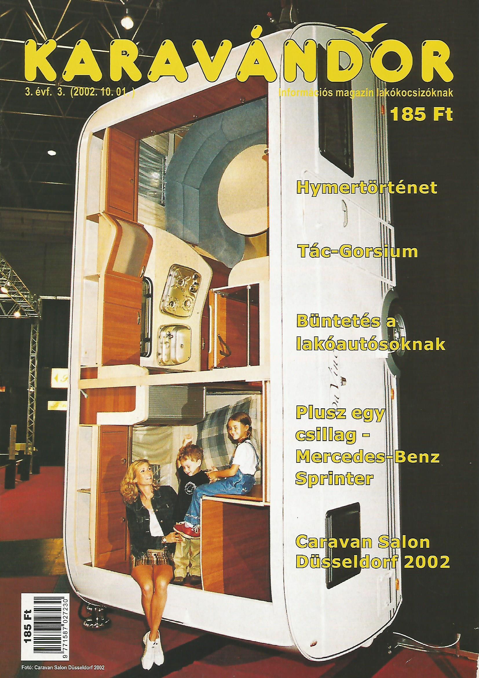 Karavándor Magazin 2002 Ősz