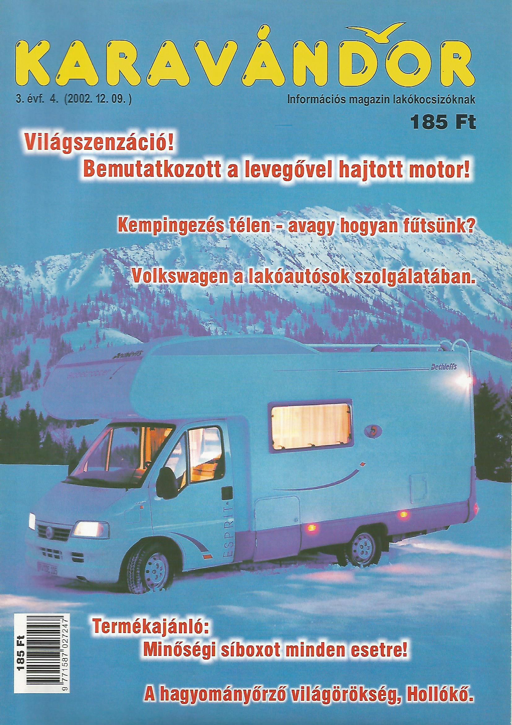 Karavándor Magazin 2002 Tél