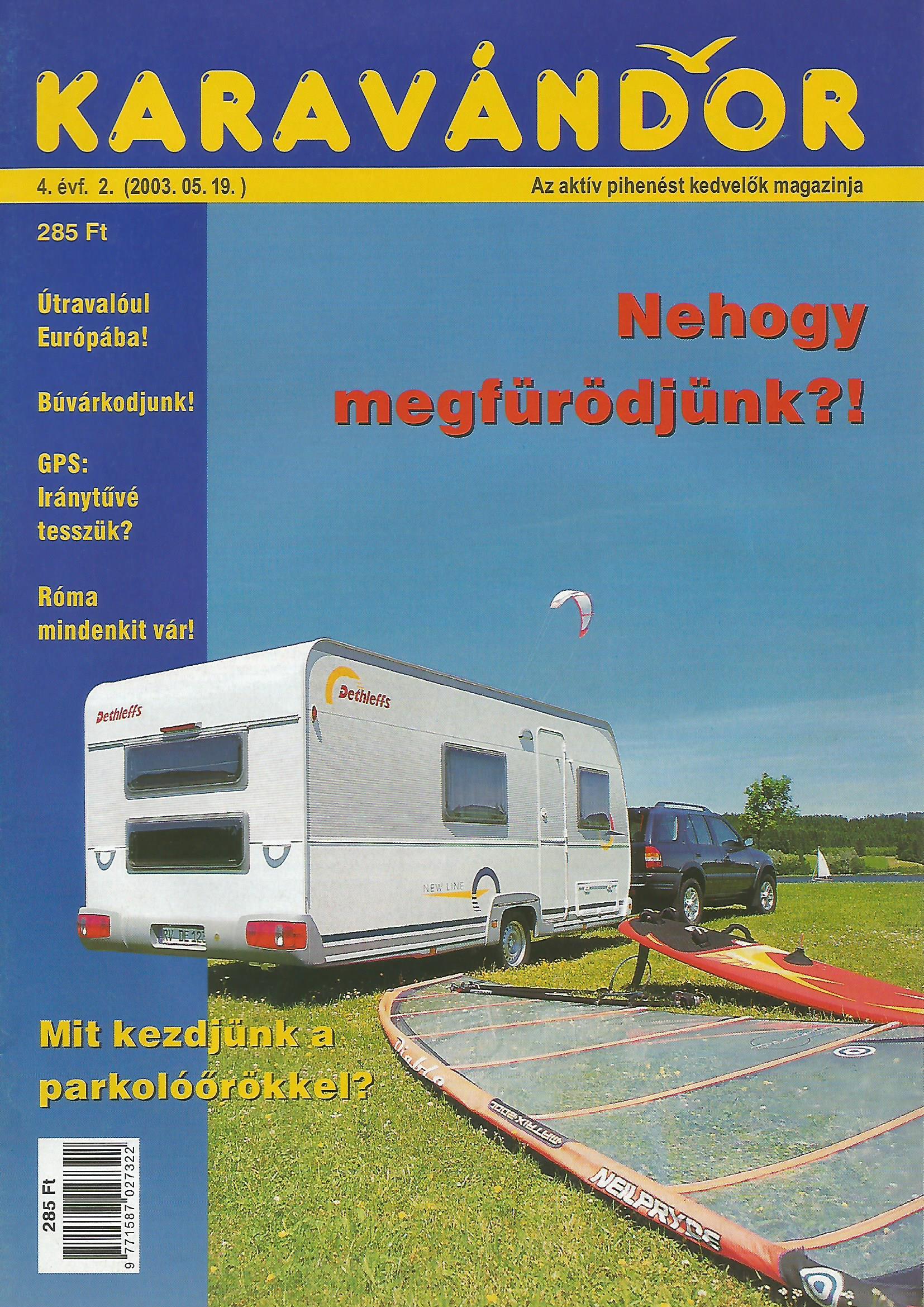 Karavándor Magazin 2003 Nyár