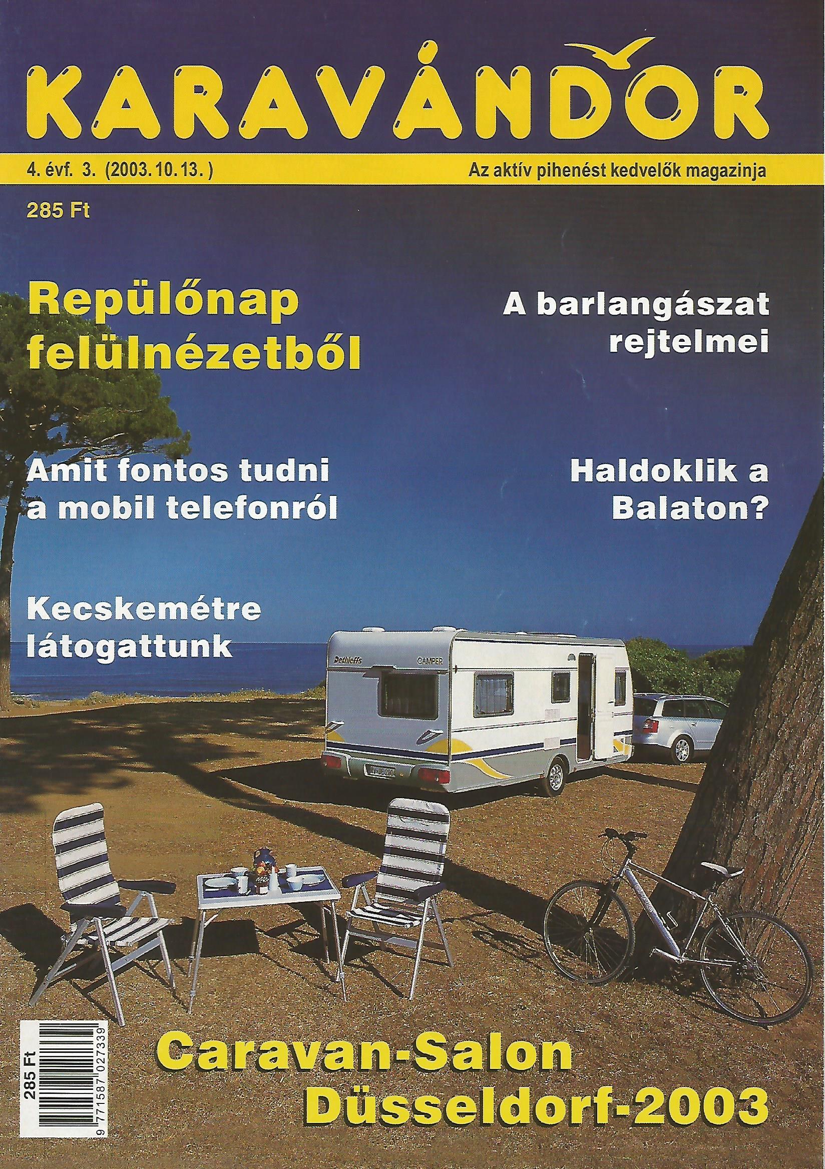 Karavándor Magazin 2003 Ősz