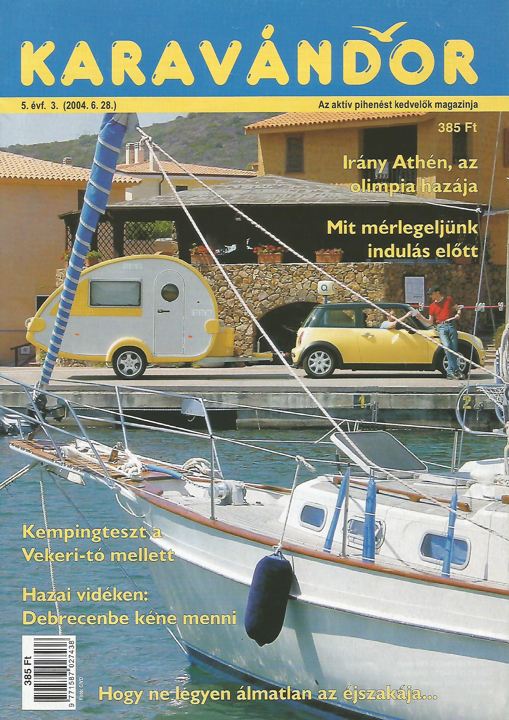Karavándor Magazin 2004/3. szám