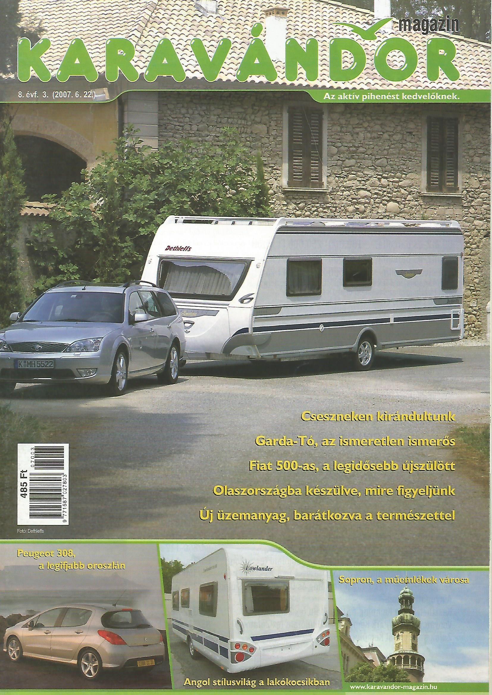 Karavándor Magazin 2007/3. szám