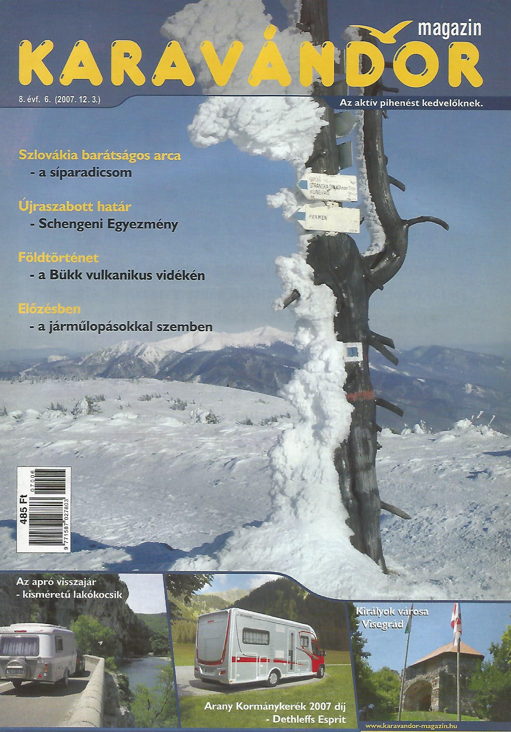 Karavándor Magazin 2007/6. szám