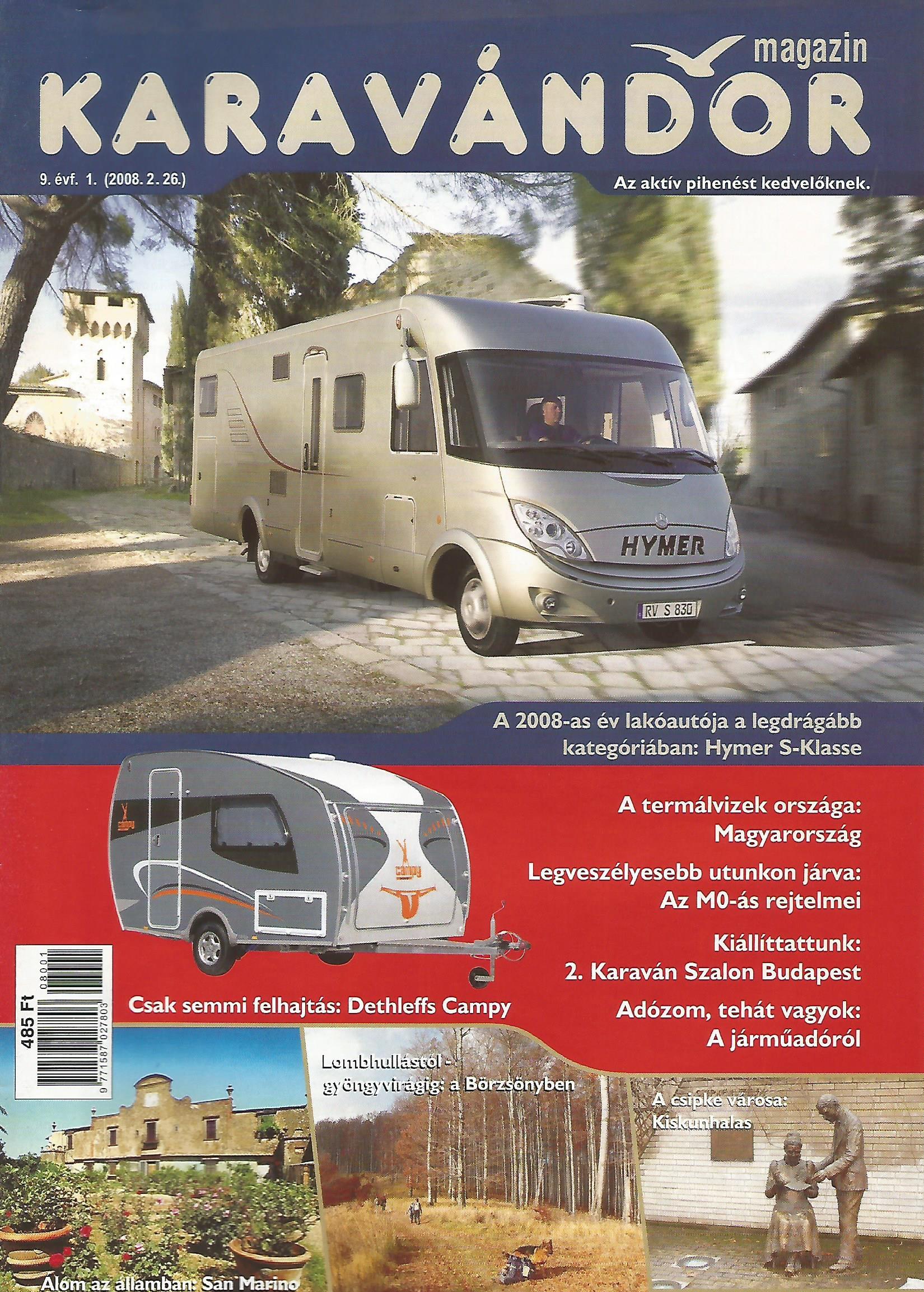 Karaván Magazin 2008/1. szám