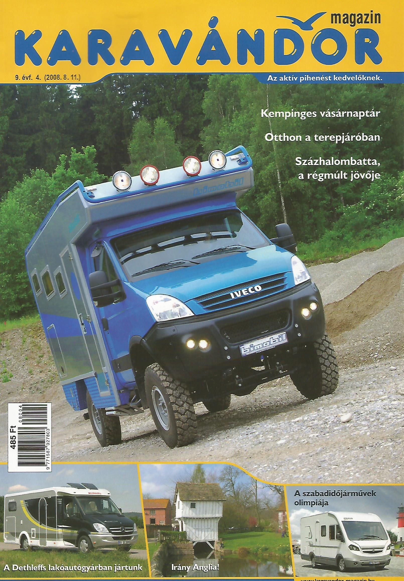 Karavándor magazin 2008/ 4. szám