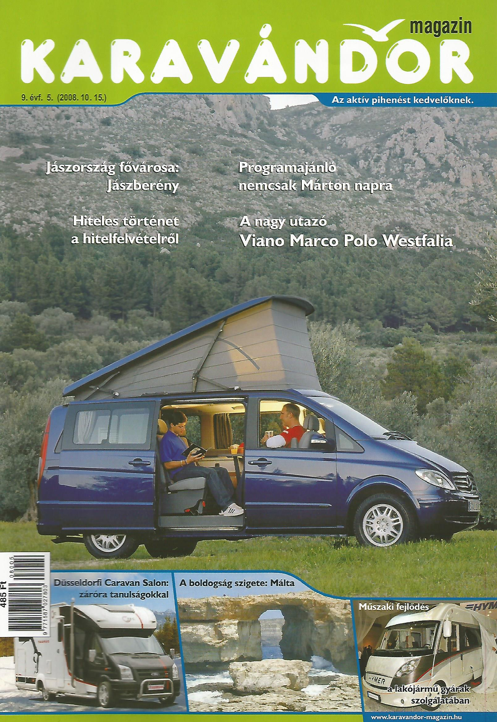 Karavándor magazin 2008/ 5. szám