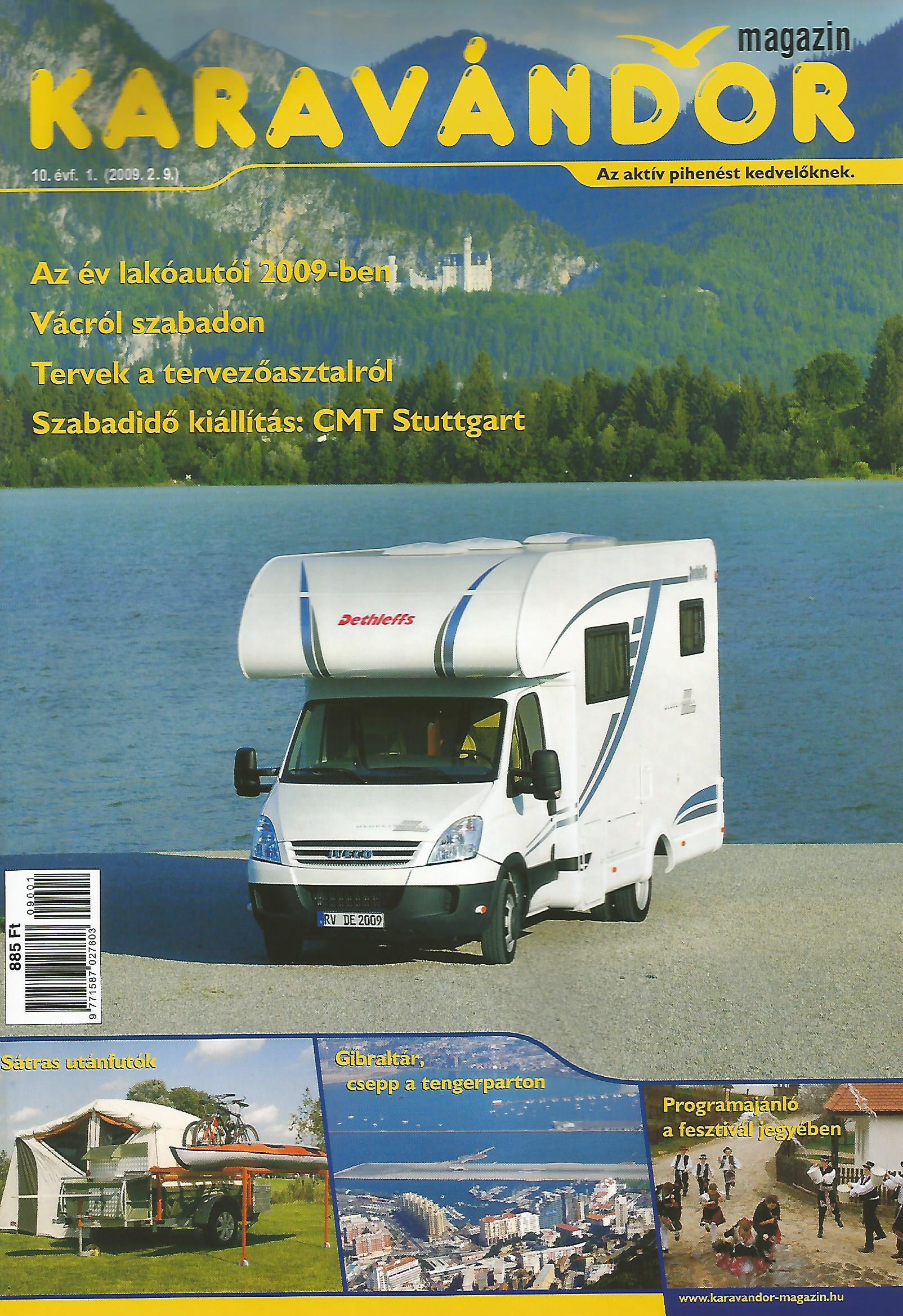 Karavándor magazin 2009/ 1. szám