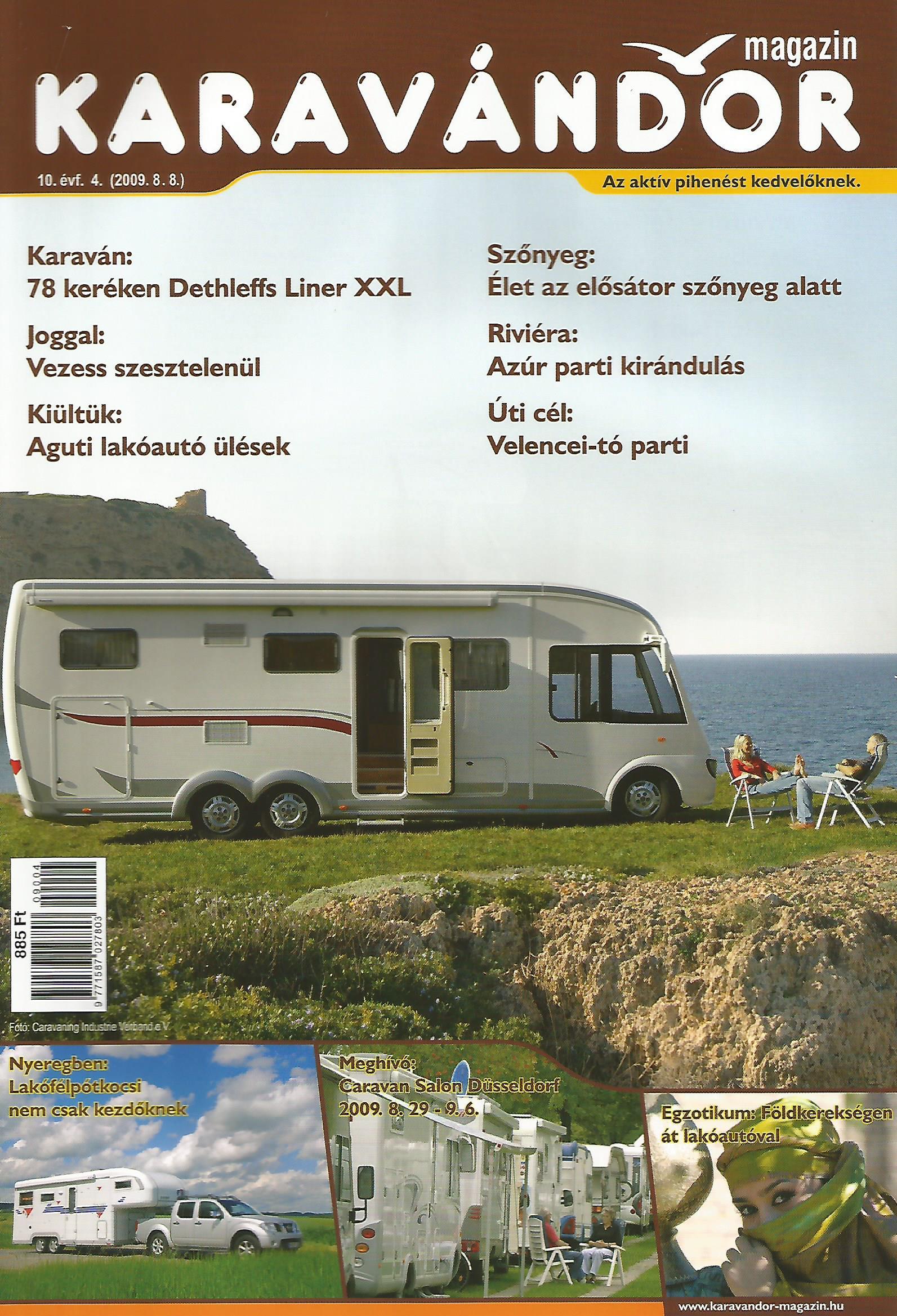 Karavándor magazin 2009/ 4. szám