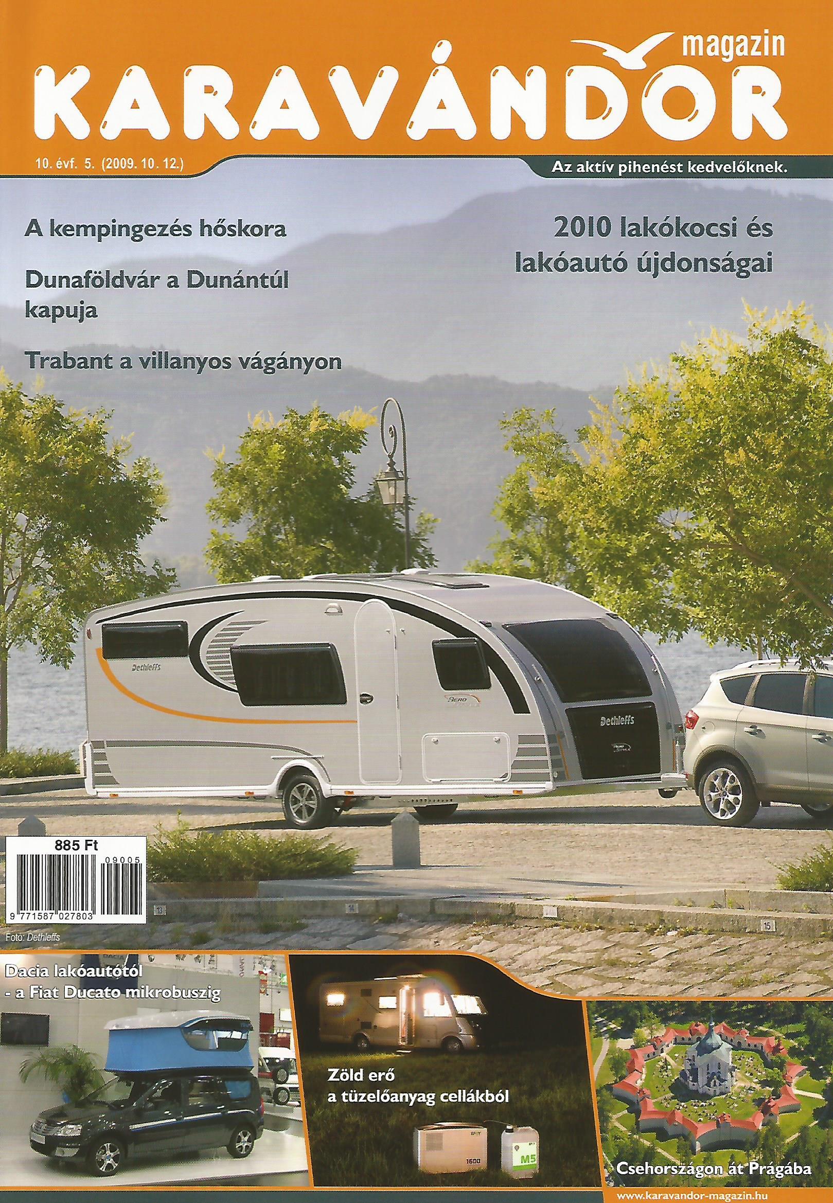 Karavándor magazin 2009/ 5. szám