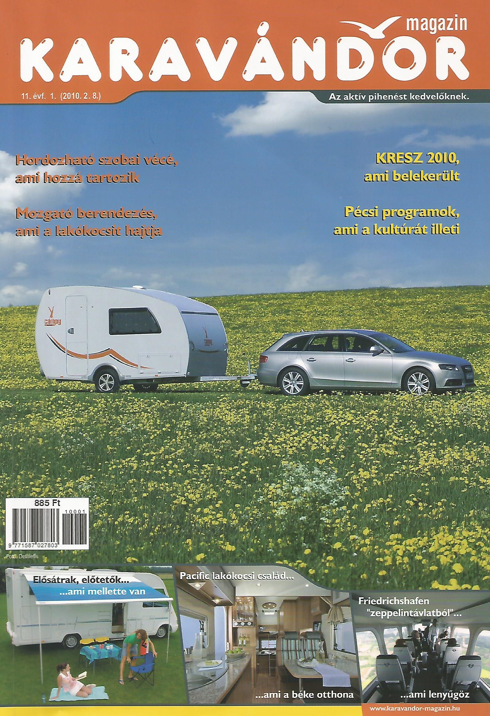Karavándor magazin 2010/ 1. szám