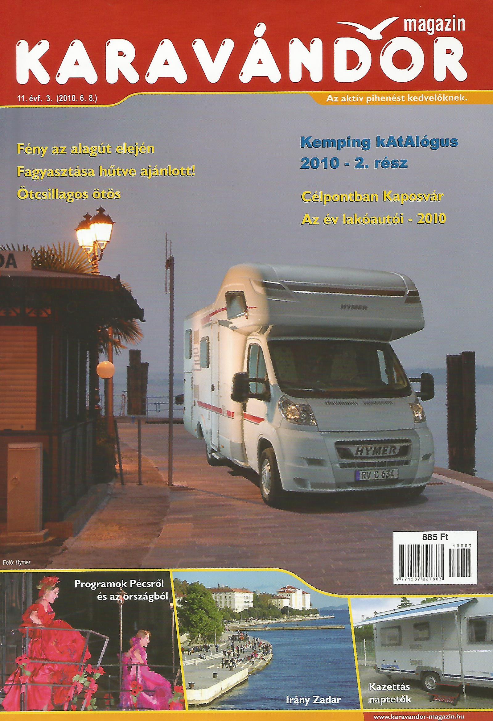 Karavándor magazin 2010/ 3. szám