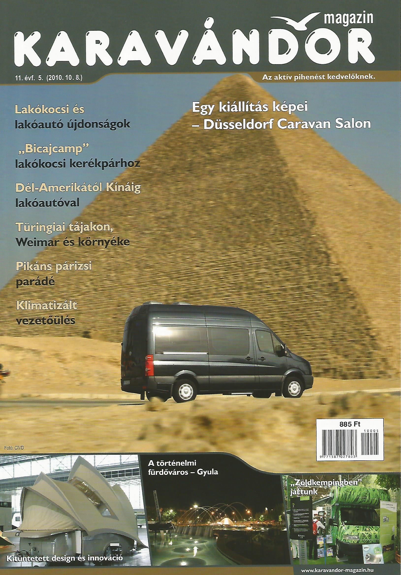 Karavándor magazin 2010/ 5. szám