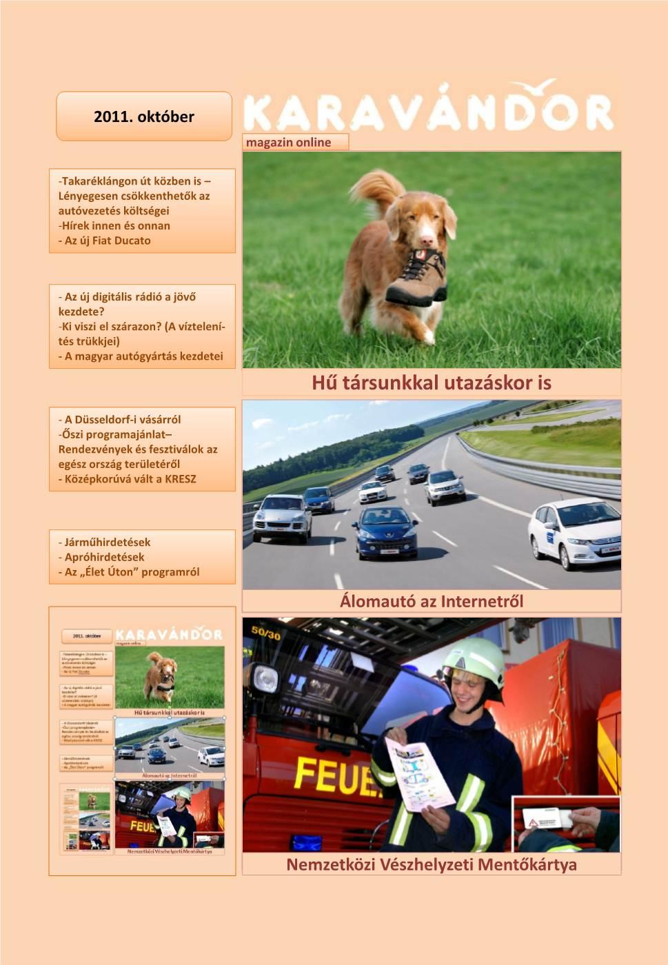 Karavándor magazin 2011. Tél