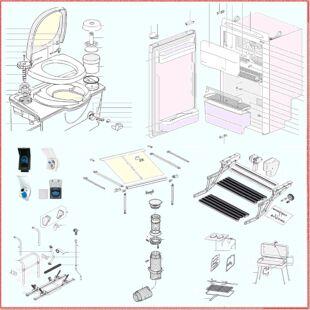 Lakókocsik, lakóautók, sátras utánfutók, szabadidő járművek részegységeihez alkatrészek és tartozékok. Többek között kempingbútor, klíma, mozgatóberendezés, biztonsági kapcsolófej, hűtőszekrény, gázfűtés, beépített vagy mobil toalett, ablak, tetőszellőző, kazettás naptető, vízpumpa és számos egyéb beépíthető vagy kiegészítőként használt kempingcikk alkatrészei, tartozékai raktárról vagy egyedi megrendelésre!